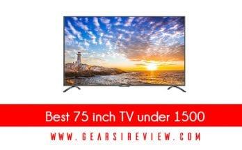 Best 75 inch TV under 1500