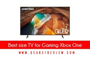 Best size TV for Gaming Xbox One
