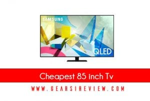 Cheapest 85 inch tv