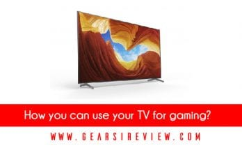 How you can use your TV for gaming