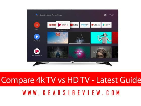 Compare 4k TV vs HD TV