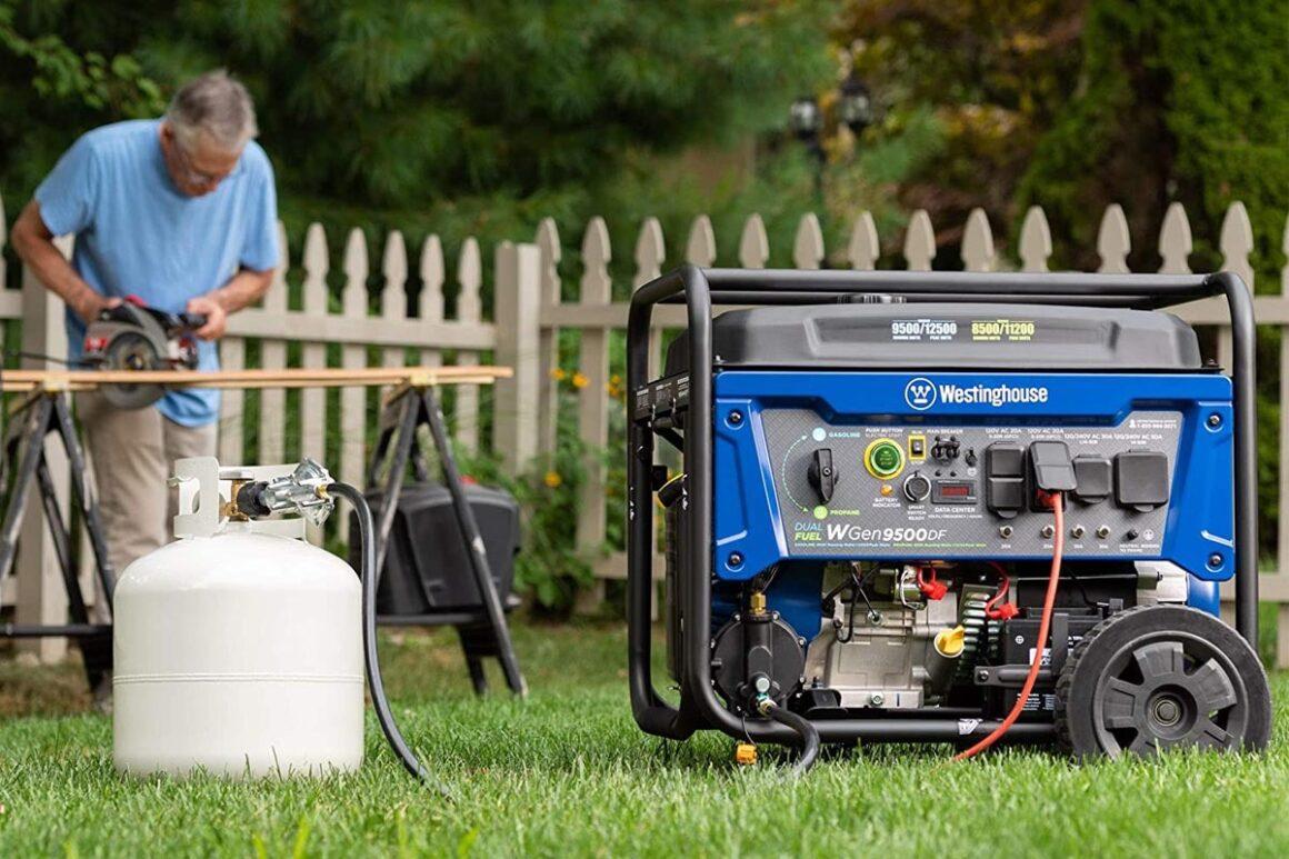 dual fuel generator